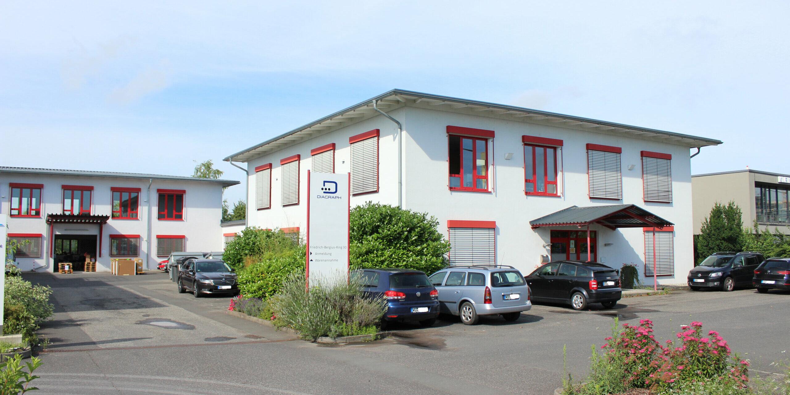 Firmengebäude Diagraph 2021